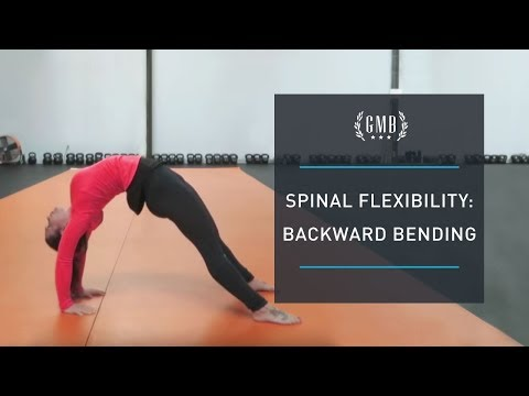 Spinal Flexibility - Backbending and Bridge Routine
