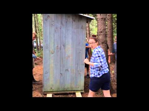 Outhouse Move Aug 11 2015