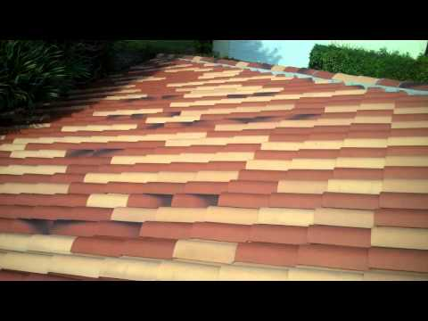 Tile Roof After Pressure Washing and Maintenance-  Miami, FL- Istueta Roofing