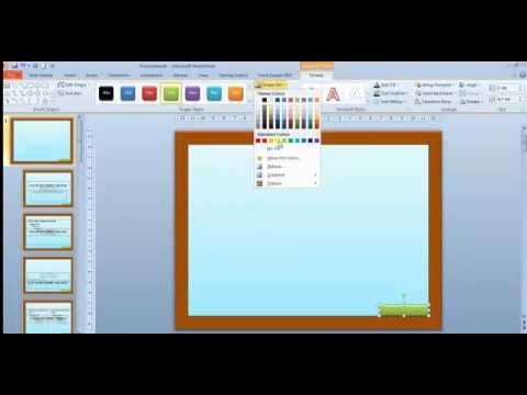 Cara membuat template di powerpoint