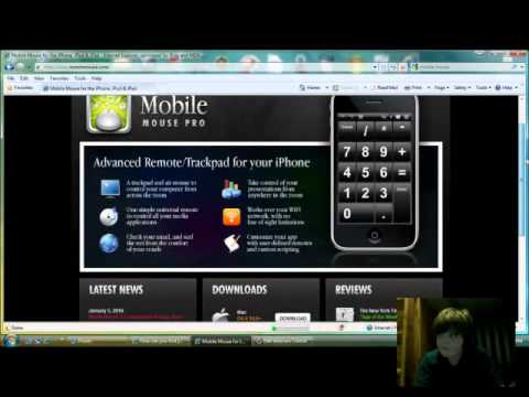 How To Control Computer With iPod/iPhone as a Mouse