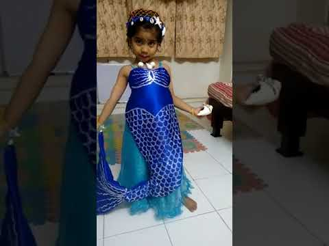 Mermaid Fancy Dress by Khushi -2016