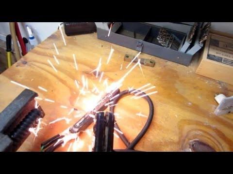 $20 Homebuilt DC welder - Easy Start Circuit