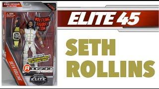 WWE FIGURE INSIDER: Seth Rollins - WWE Elite Series 45 WWE Toy Wrestling Action Figure