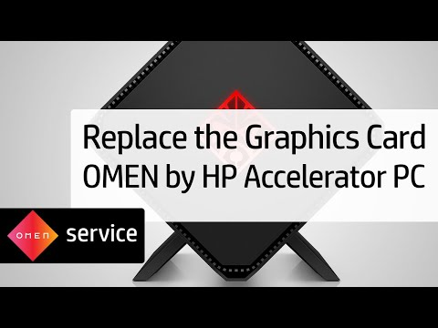 Removing and Replacing the Graphics Card on the OMEN by HP Accelerator PC