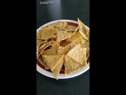 Easy Raw Vegan Corn Chips | No Fat | No Oil