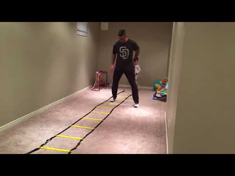 Ladder Drill: Double Icky Shuffle