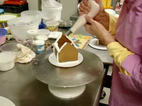 Chef Tools - Gingerbread Houses Part2 - Adding Your Roof