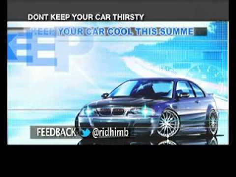 Living Cars: Tips to keep your car cool this summer.