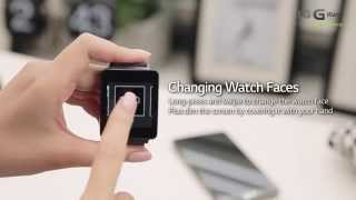 Official LG G Watch Hands on Video