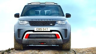 New Land Rover Discovery SVX REVIEW 8 New Features 2018 World Premiere New Discovery SVR 2018 CARJAM