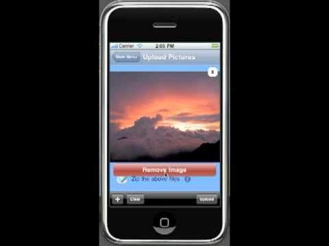 send pictures from iphone to computer, facebook or twitter