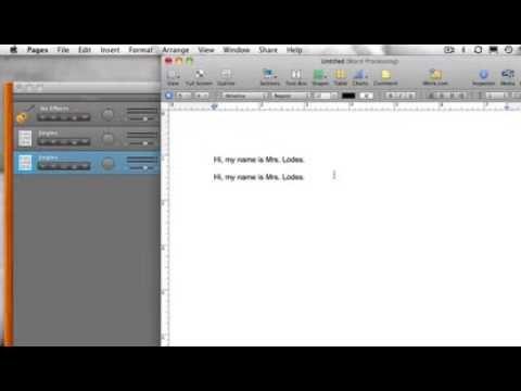 Mac - Cut, Copy, Paste, Undo Tutorial