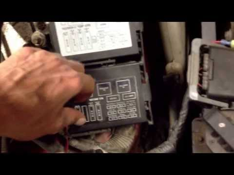 How to find fuses on a 2000 Monte Carlo ss