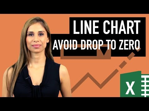 Optimized Excel Line Charts: Prevent drop to zero & dynamic Legend positioning