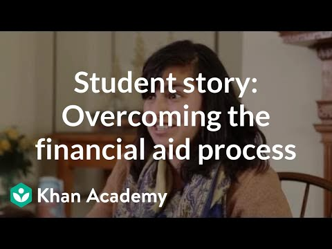 Student story: Overcoming the financial aid process as an obstacle to college