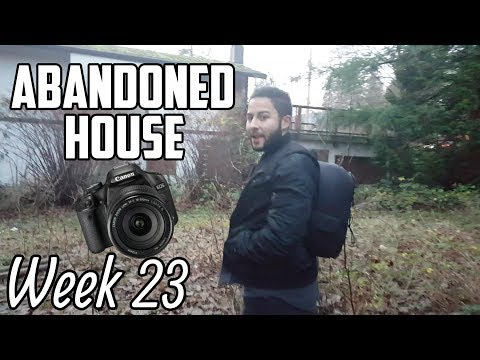 PHOTOSHOOT IN AN ABANDONED HOUSE | Week 46