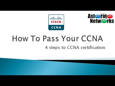 How To Pass Your CCNA