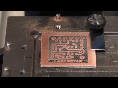 Laser Marking - Printed Circuit Board (PCB) Fabrication