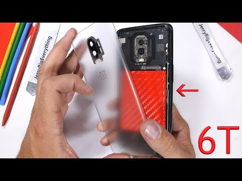 OnePlus 6T - Transparent Edition!