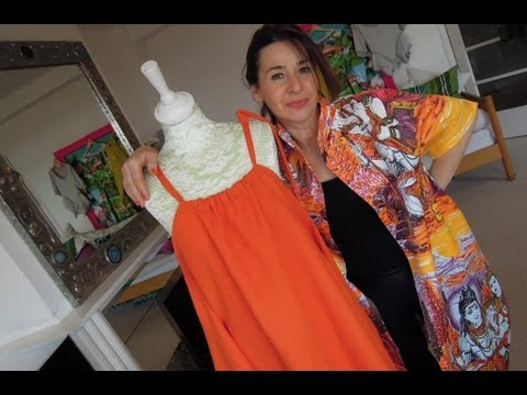 How to sew an easy summer dress
