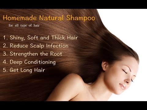 Homemade Amla, Shikakai Shampoo for Healthy Shiny Hair and Natural Hair Growth