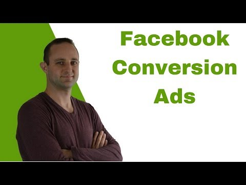 Facebook Advertising Tips - Conversion Ads for Beginners