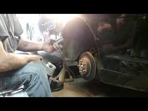 How to replace the rear hub assembly on 2006- 2012 Ford Fusion