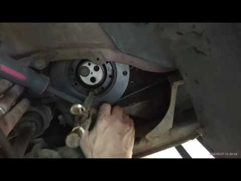 Mondeo Mk3 Tdci (no need for belt tensioner tool) Crankshaft pulley replacement.