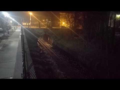 CSX Baltimore Belt Line Nighttime Transfer Move