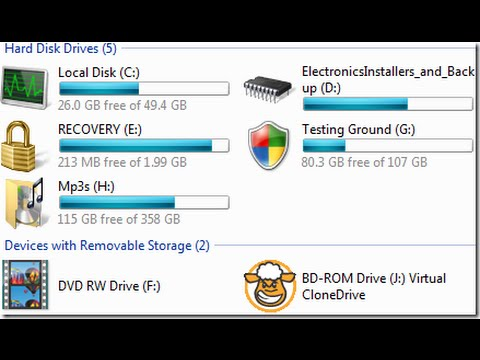 How to Change Drive ICON In Windows 7 || Free & Simple