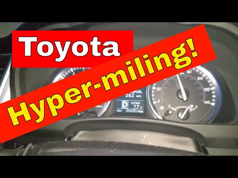 2014 Toyota Highlander HYPERMILE Highway MPG Gas Mileage Test Drive