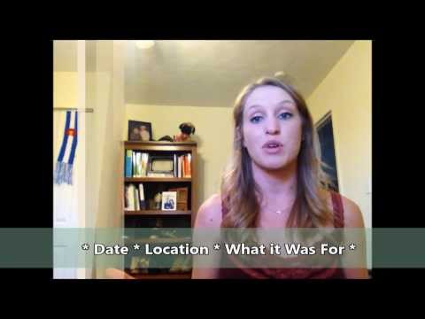 Preparing for Your Dietetic Internship Application