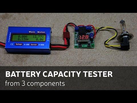 How To Make A Battery Capacity Tester