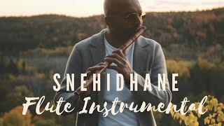 Snehidhane - Chupke Se    Flute Instrumental   Flute Siva   AR Rahman   Sadana Sargam