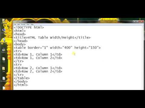 html table height and width part 67