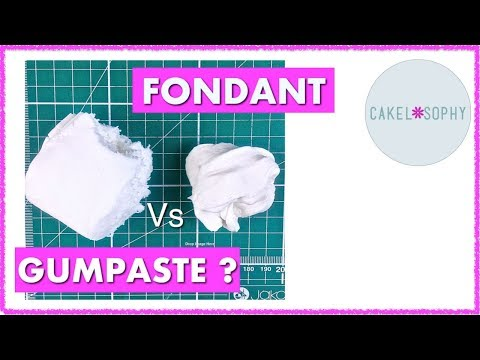 Fondant Vs Gumpaste: Compare and Contrast