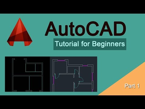 AutoCAD Tutorial for Beginners - Part 1 - Basics | Drawing a Line