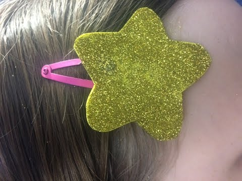 Animal Crossing Inspired Star Hair pin