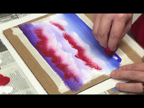 (4) Cloud Painting: Apply Skills to Small Painting