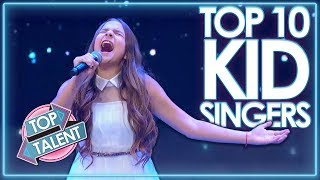 TOP 10 Kid Singers All Around The World | Top Talent