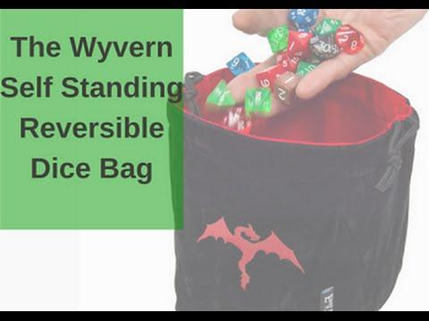 Wyvern Reversible Dice Bag - Self Standing