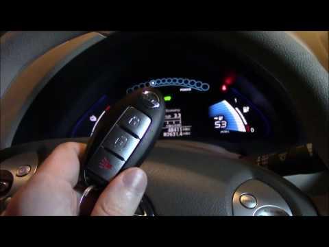 Key Fob Battery Change, Plus Secret Spare Key!  2011 Nissan Leaf Key Keyless Start