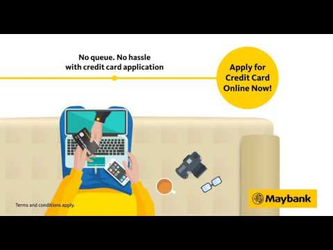 Maybank Apply for a Maybank Credit Card Online