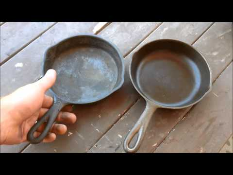 Electrolysis vs Vinegar bath Part 2 - Cleaning Cast iron
