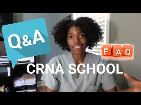 FAQ and Q&As about CRNA School and Me