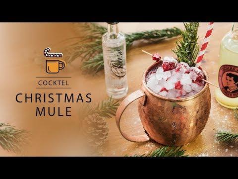 Christmas Mule (Moscow Mule twist)
