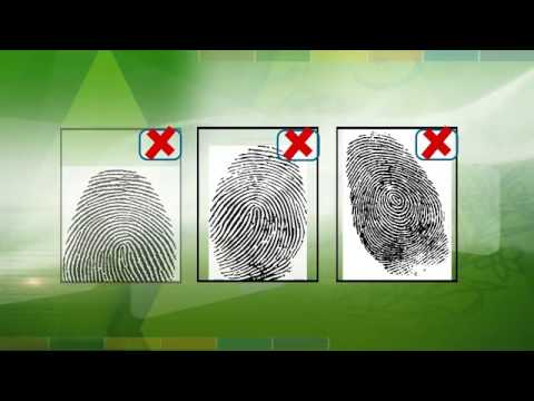 How To Captured Fingerprints To apply For renwal of Passport