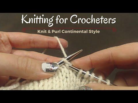 Knitting for Crocheters