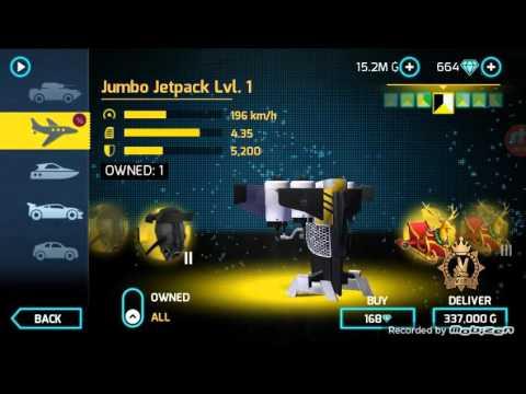 Gangstar vegas - JUMBO JETPACK LV1 REVIEW